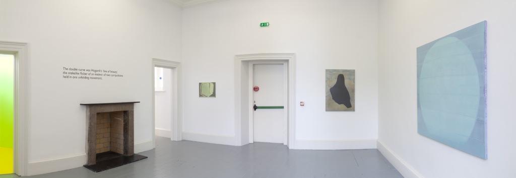 Room 4, paintings by Ciaran Murphy