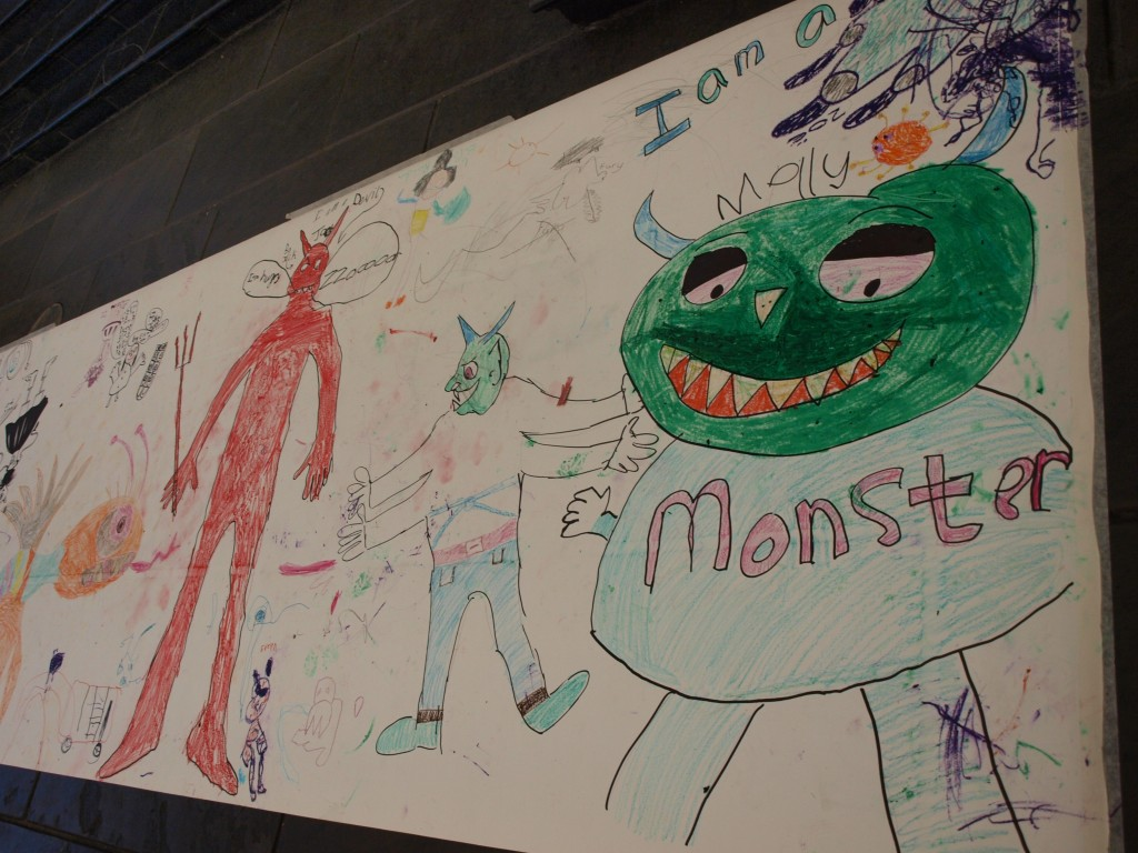 And adding to our monster doodle