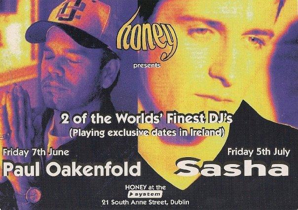 Flyer for 'System' nightclub, Dublin