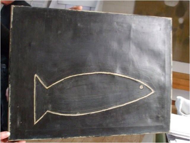 Patrick Scott Sea Fish 1942 41 x 56cm oil on canvas