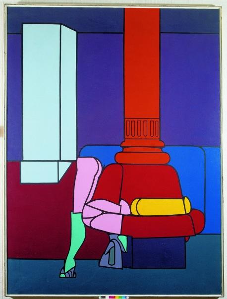 Valerio Adami, Beauty Parlor, 1970.