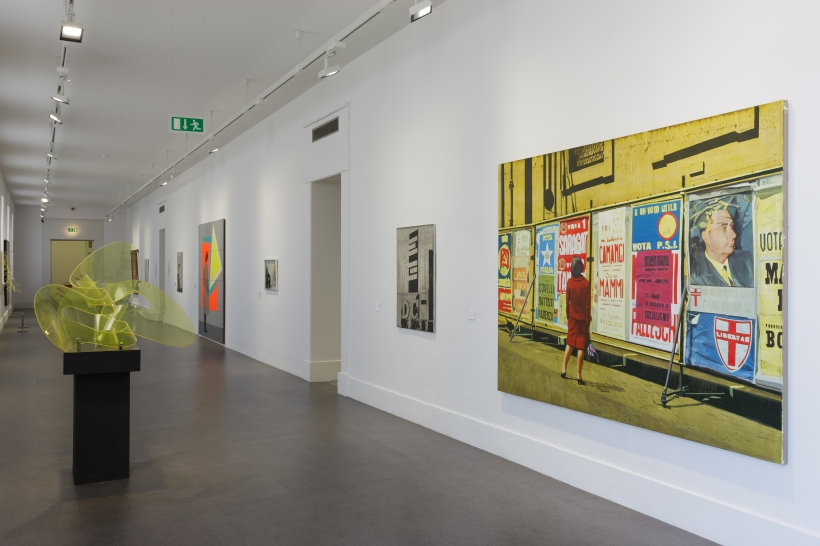 Work from IMMA's current Collection series in the museums West Wing.
