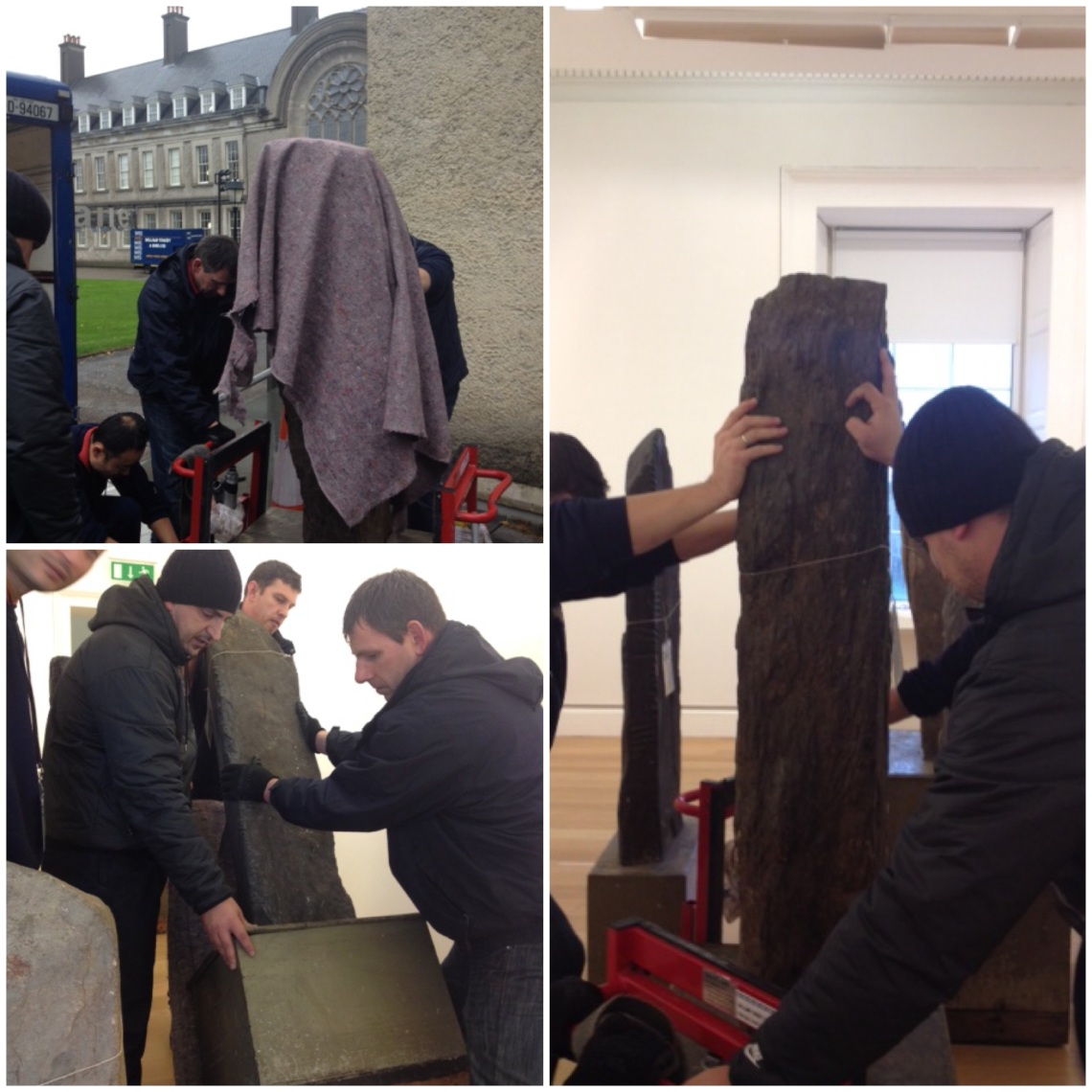 Moving the Ogham Stones