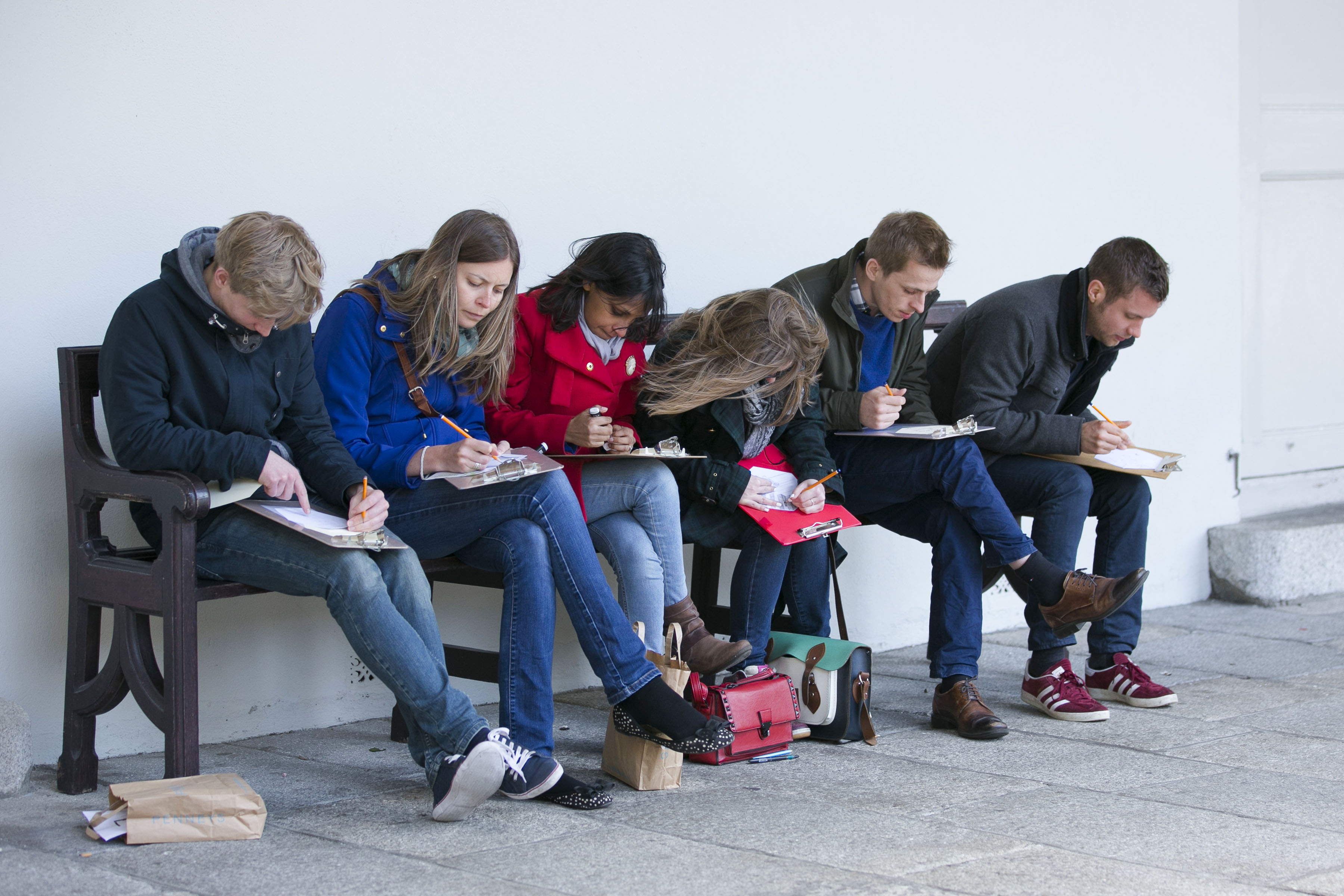 Drawing Day 2015 At Imma