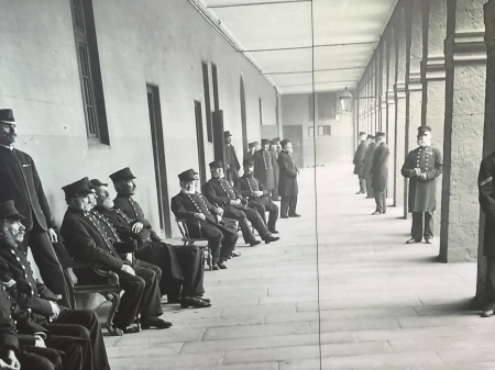 Historic photo from the Royal Hospital Kilmainham.