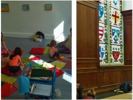 Mornings at the Museum, Etel Adnan, 22 July 2015, and Heritage Week family event 23 August 2015, IMMA