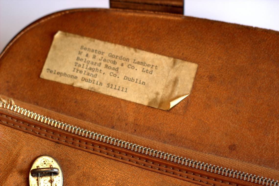 Image of suitcase -detail- Photographer Chris Jones