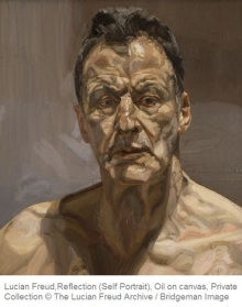 Reflection (Self Portrait), 1985 (oil on canvas)