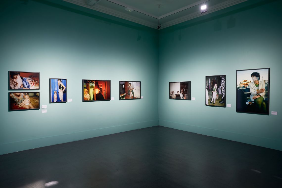 Nan goldin weekend plans installation view imma irish museum of modern art dublin 2017 photo denis mortell