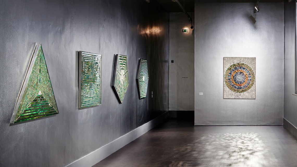 Installation view. Monir Shahroudy Farmanfarmaian, Sunset, Sunrise. IMMA, Dublin. 10 August - 25 November 2018. Photo: Ros Kavanagh